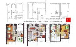 Plan Feng Shui d'une maison à Gex