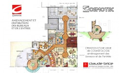 Plan Feng Shui d'une usine en Suisse