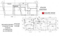 Plan Feng Shui d'une maison en Auvergne