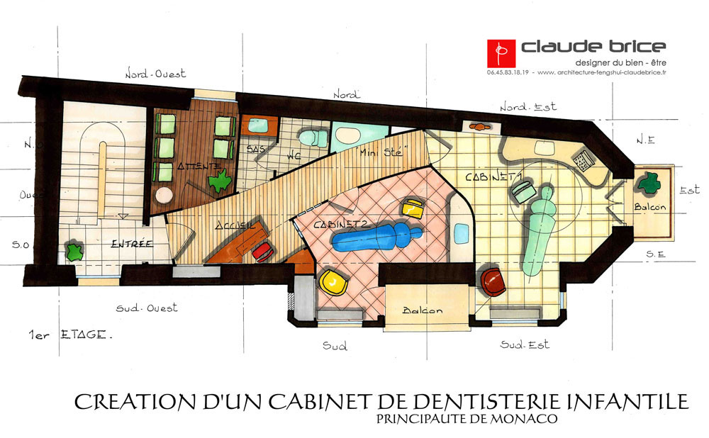 am nagement feng shui professionnel cabinet dentaire monaco claude brice. Black Bedroom Furniture Sets. Home Design Ideas