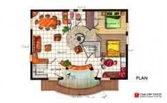 Plan Feng Shui d'une maison à Clermont Ferrand