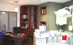 Intérieur Feng Shui d'un cabinet dentaire à Nice