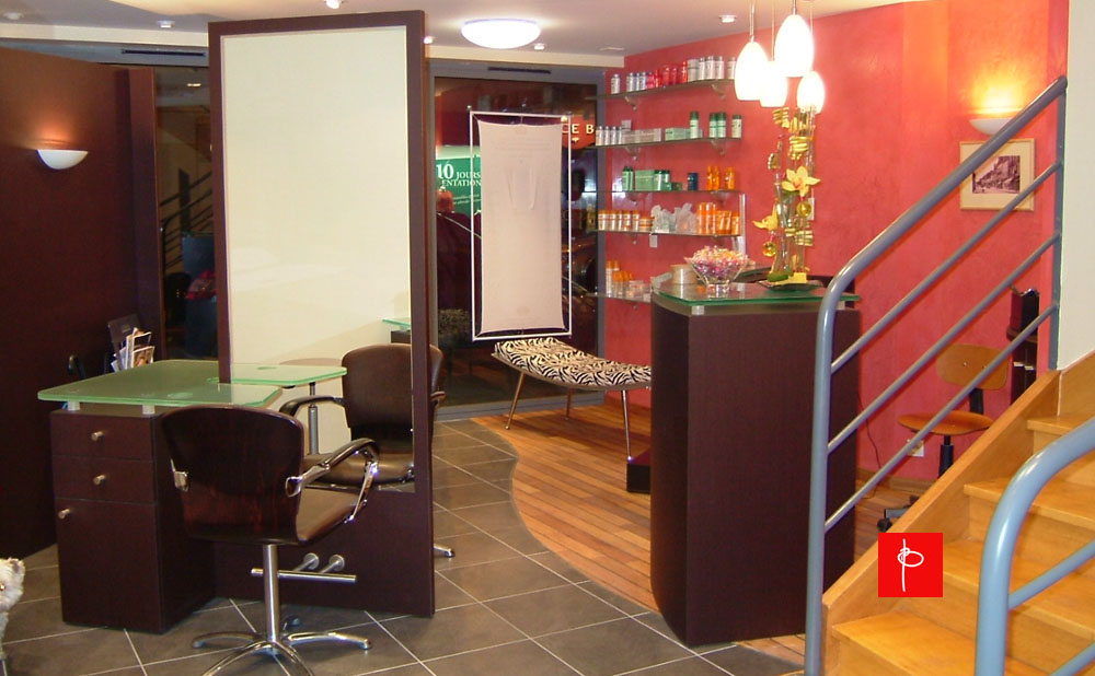 Fabulous intrieur feng shui duun salon de coiffure pontivy for Salon feng shui