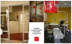 Intérieur Feng Shui d'un cabinet dentaire à Monaco