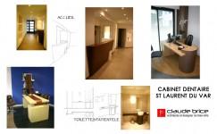 Designer Feng Shui cabinet dentaire