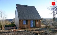 Aménagement Feng Shui d'une maison dans le parc des volcans d'Auvergne