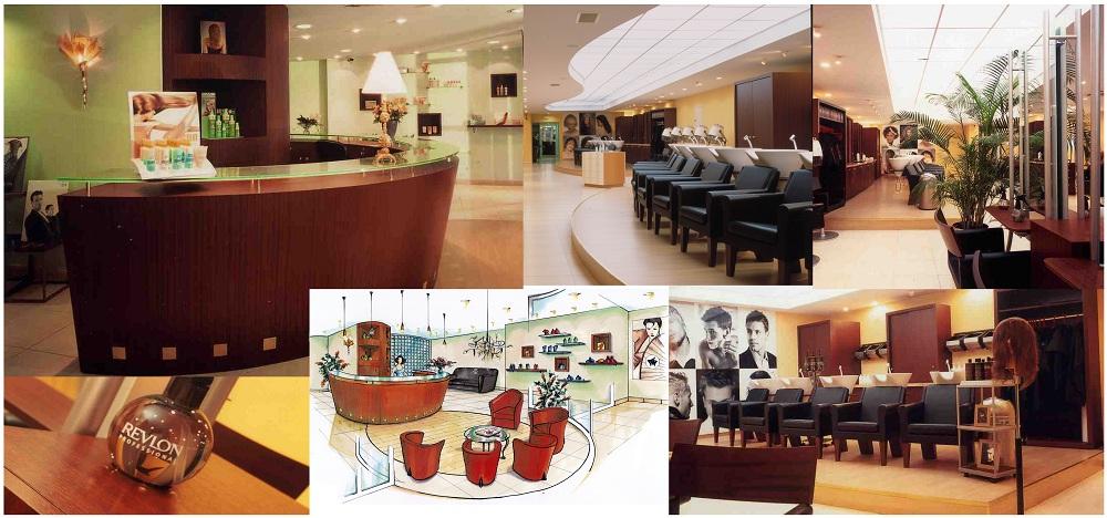 Aménagement Feng Shui salon de coiffure Revlon à Paris