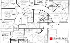 Plan Feng Shui d'un cabinet dentaire à Nice