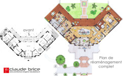 Architecture Feng Shui Maison AIX 1